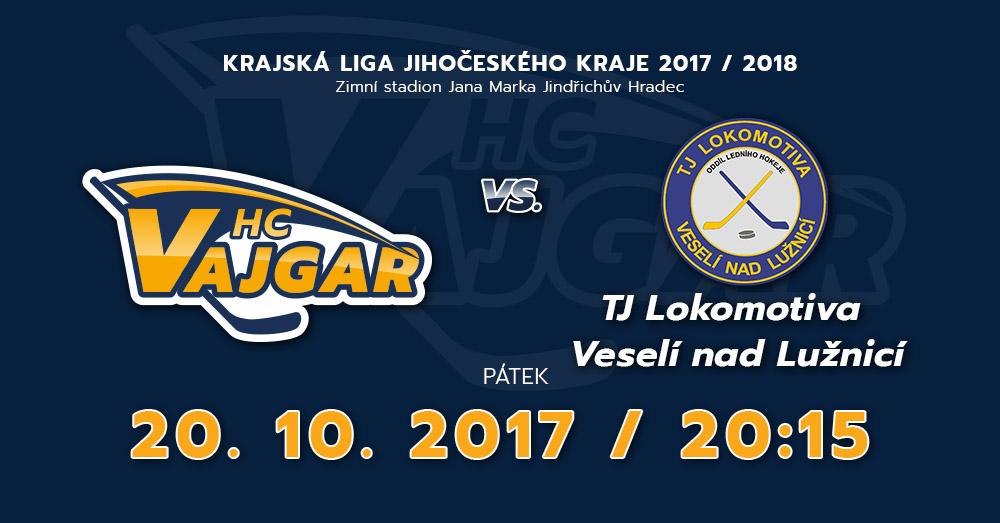 HC Vajgar vs TJ Lokomotiva Veselí nad Lužnicí